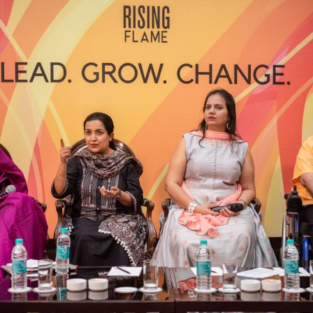 panel left to right srinidhi raghavan, harpriti reddy, nidhi goyal, nipun malhotra